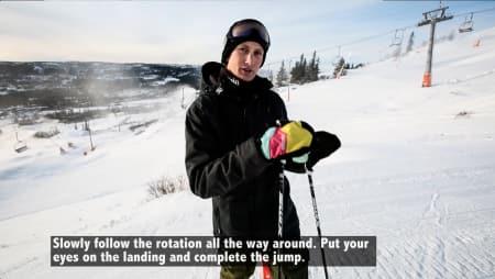 IKKE FOR MYE: Hvor mye skal du egentlig satse på hoppkanten? Bilde: Christian Nerdrum