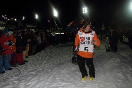 STOKA: Espen Bergh var fornøyd med dagens pallplass