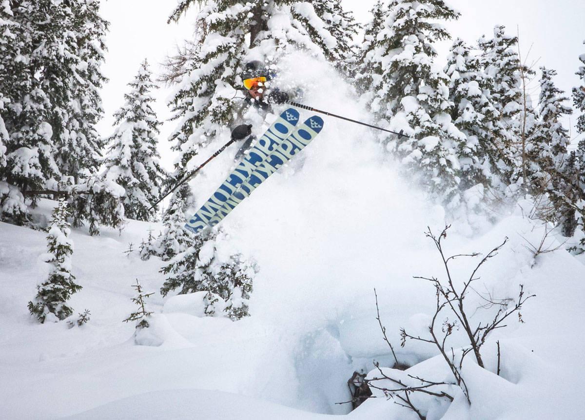 AMBISIØSE GREIER: Klarer Nikolai å kjøre mer og bedre ski med mindre miljøutslipp? Snart får du deler a svaret i episode to av Endless Winter.