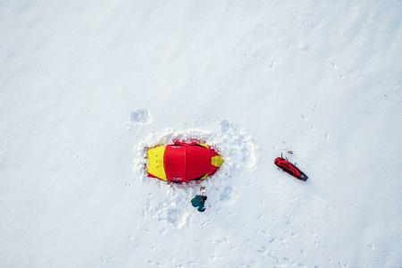 PÅ FINSE: Tor Berge har vært på Finse. Foto: Tor Berge / Norexplore