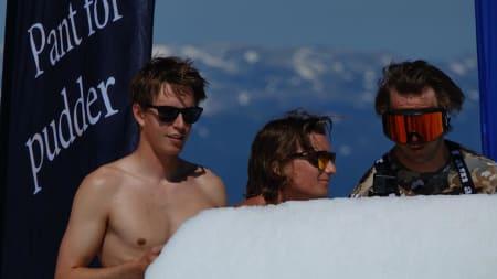Øystein Bråten, Johan Berg og Niklas Eriksson
