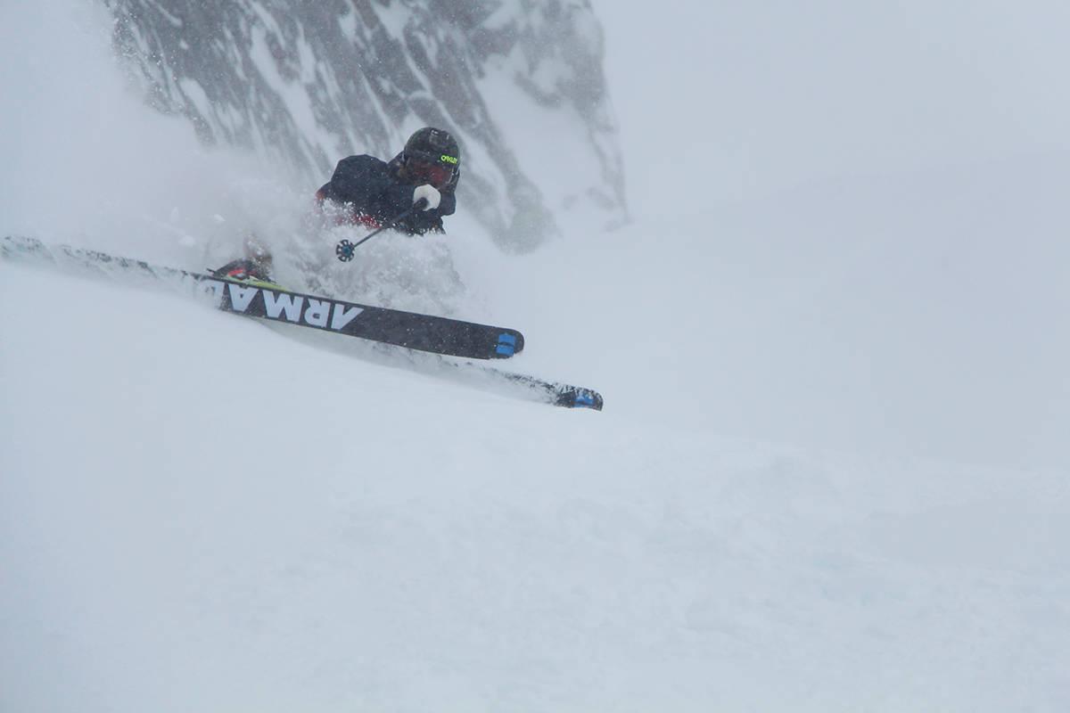 WESTER: Dette bildet fra Chamonix er et av bidragene til ukens helgebilde. Foto: Bjørn Fjellstad