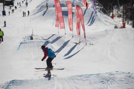 Sandra Eie ble nummer tre.