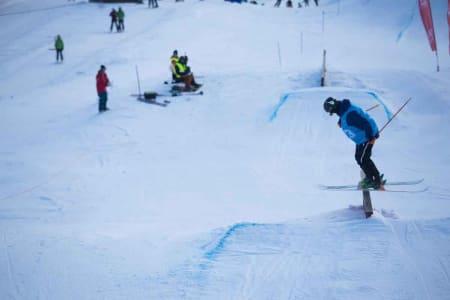 Eirik Sæterøy var uheldig og endte på 22. plass.