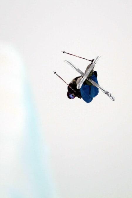 NORGESMESTER´N: Klaus Finne i en svær 900 tail. Foto: Christopher Frankum