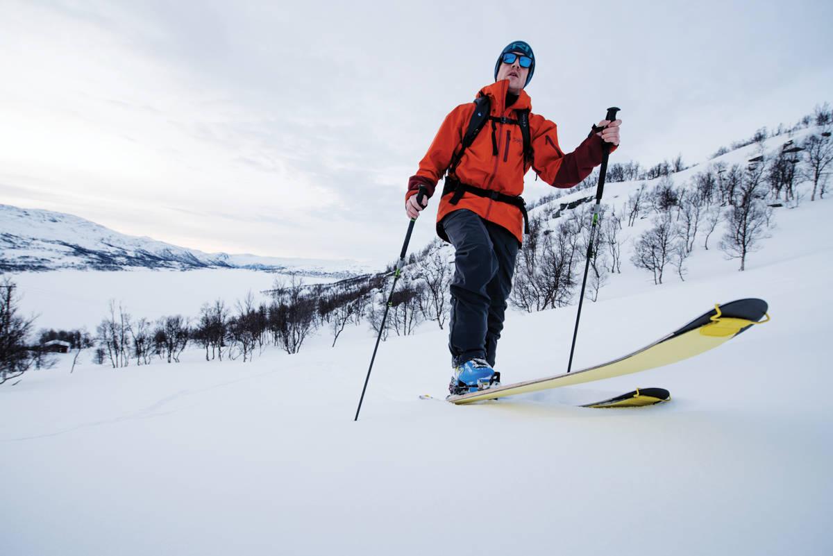 SKINS: Eller feller som det heter på norsk, har blitt betraktelig mye større- og bedre de siste 10 årene. Foto: Martin I. Dalen.