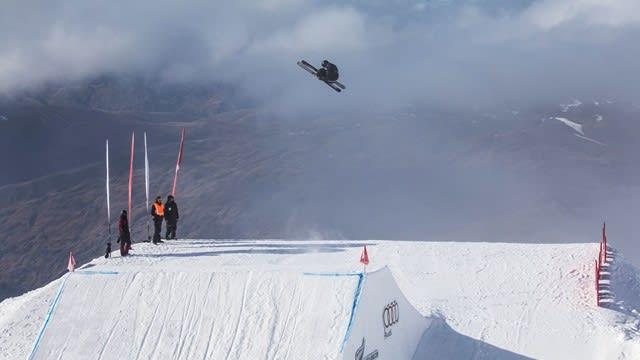 HØST-VM: Junior-VM i freeski går i Cardrona på New Zealand. Fem norske kjørere er på plass. Foto: Neil Kerr