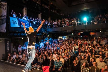 SNART STARTER FESTEN: Fri Flyt Film Tour braker løs 30. september! Foto: Bård Basberg