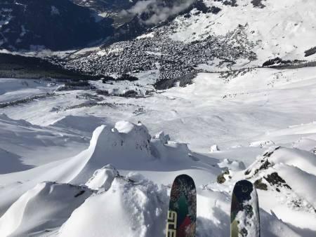 Rimelig heftige fjell også i Sveits.
