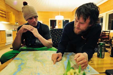 Sammen med Asbjørn Eggebø Næss. Foto: Endre Løvaas