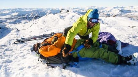Førstehjelp i fjellet