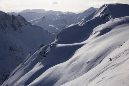 PÅSKETUR: Fri Flyt dro på påsketur til Loppa i Vest-Finnmark i fjor. Les historien om fem fokkings dager på tur. Foto: Hans Petter Hval