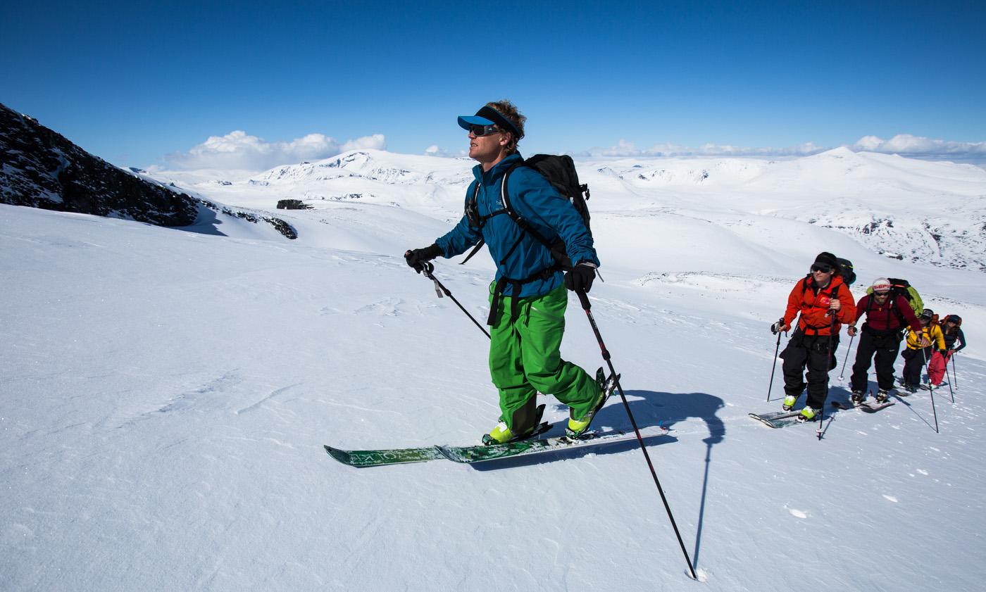 Forteller om norsk Haute Route