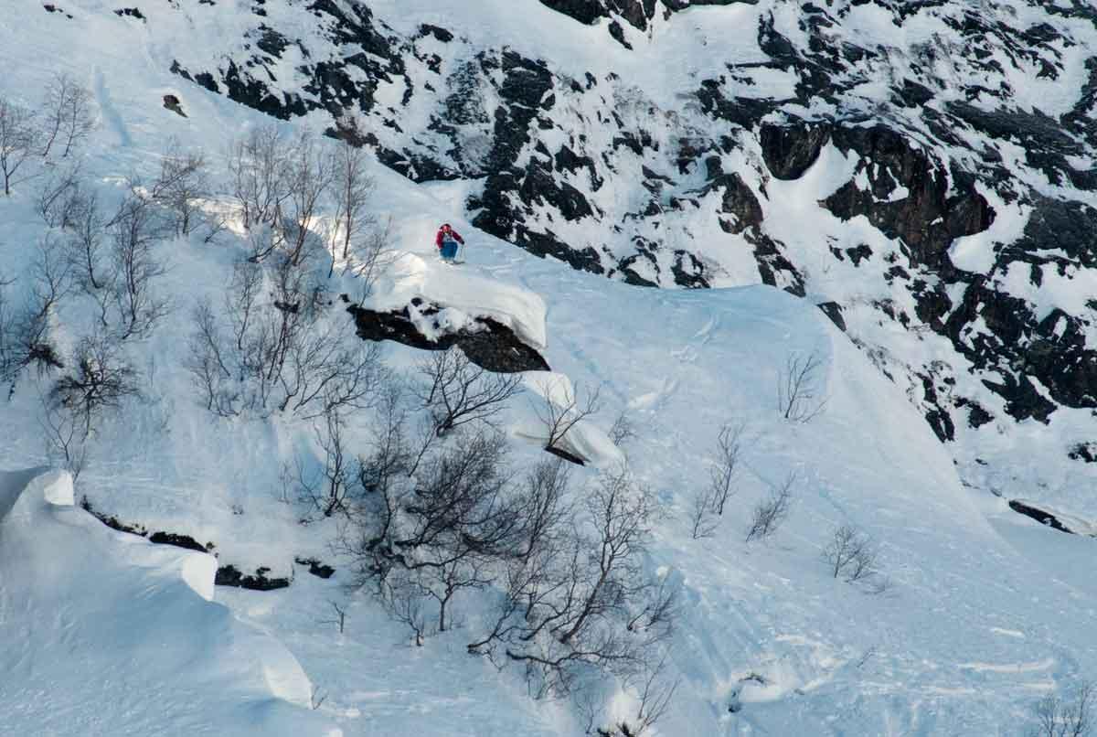 STARTER TIL HELGA: Lørdag kjøres frikjøringskonkurransen i Sogndal, som er første konkurranse i Norway Freeride Series.