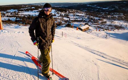 TILBAKE: Fridtjof Fredricsson er endelig tilbake på ski! Foto: Christian Nerdrum