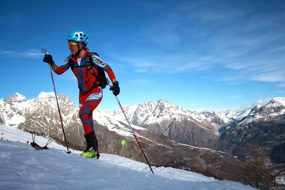 GÅR FOR REKORD: Malene Blikken Haukøy går for verdensrekord i helga, sammen med Lars Erik Skjervheim. Arkivfoto: Mikkel Frodahl