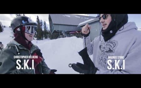 TRASH-TV: Christopher Helberg går i tottene på Magnus Støre i den ferskeste episoden av Game of S.K.I