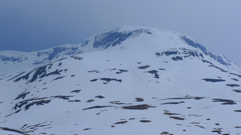VIKAFJELLET: Bra med snø i år! Bilde: Vivi Sponland