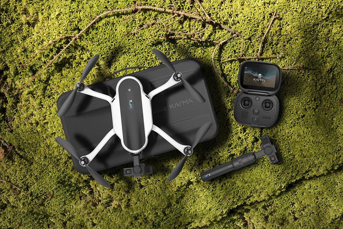 KLAR FOR NORDEN: Nå selges dronen i Norden. Foto: Gopro