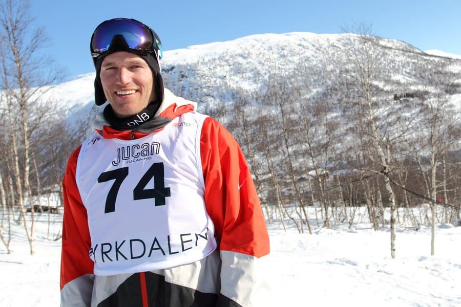 STABIL: Andreas Håtveit holder koken, og ble best av de norske kjørerne under dagens kvalik i verdenscuprunden i slopestyle i USA. Bildet er fra VM på Voss i fjor, hvor han ble nummer fire. Foto: Tore Meirik