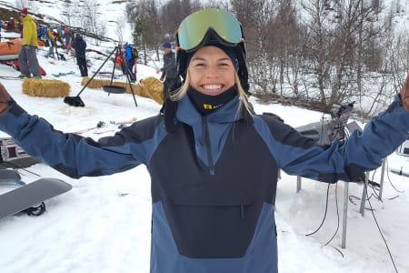 BEST I SKANDINAVIA: Hedvig Wessel tok seieren i det skandinaviske frikjøringsmesterskapet i Riksgränsen. Arkivfoto: Anders Holtet