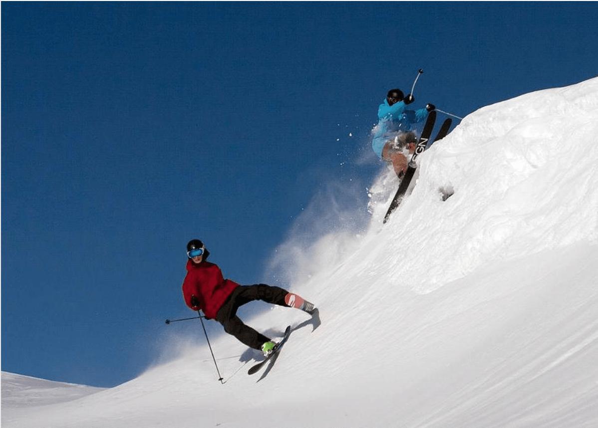 HEGGIS GUN CREW: Det finnes lite tvil innad skimiljøet at dette er utelukkende toppidrettsutøvere. Foto: