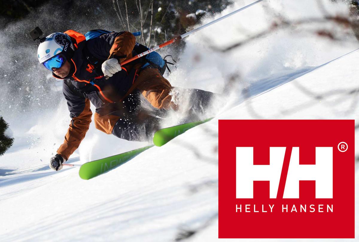 SOLGT: Helly Hansen fikk for seks milliarder kroner. Den franske frikjøringsstjerna Aurelien Ducroz er blant selskapets frontfigurer. Foto: Dan Ferrer/ Helly Hansen