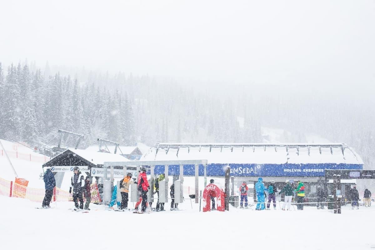 VM: Hemsedal vil ha VM i alpin. Foto: Kalle Hägglund/SkiStar