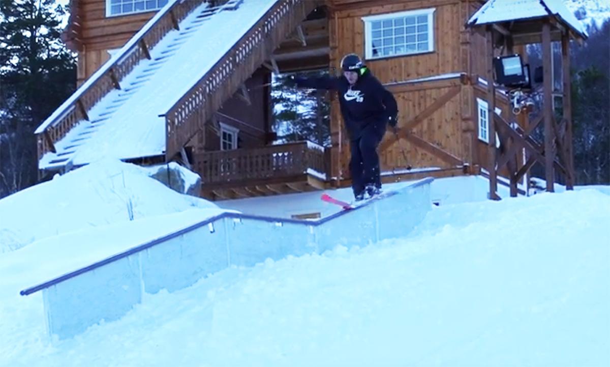 Her er Andreas Håtveit tilbake på ski