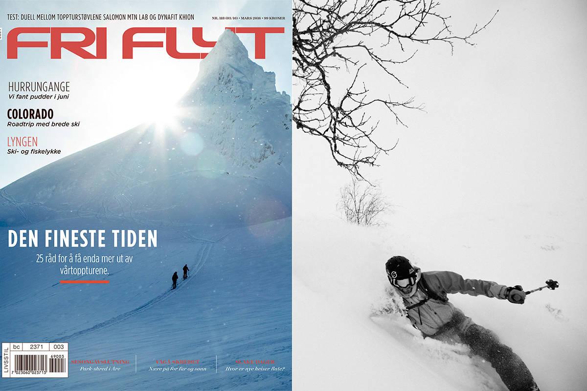 NYTT BLAD: Sigurd Løvfall er hovedprofil i det nye Fri Flyt-magasinet. Foto: Anki Grøthe / Håvard Myklebust (cover)