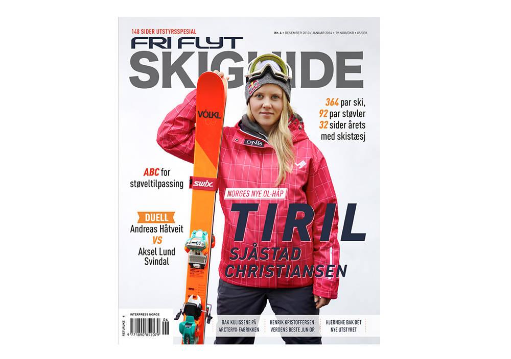 COVER: Tiril Sjåstad Christiansen er en av våre fremste medaljekandidater i Sotsji, og selvsagt pryder hun coveret.