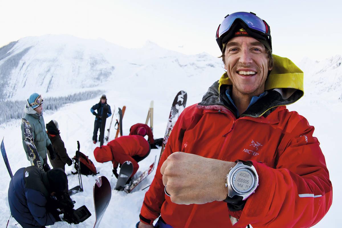 ØYEBLIKKET: 30. desember 2010 nådde Greg Hill målet om to millioner vertikale fot. Han får fremdeles tårer i øynene når han tenker på følelsen han hadde da det magiske talle dukket opp på klokka. Foto: Tommy Chandler
