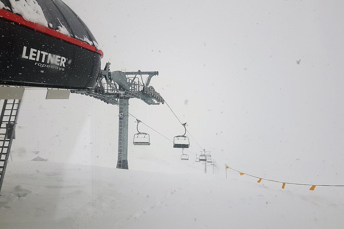 NYSNØ: Det snør godt i Røldal, og mer skal komme denne uka. Foto: Bjørn Ove Hagen