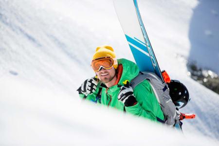 KLAR: Dennis Risvoll har startnummer 17. Foto: Arkivfoto