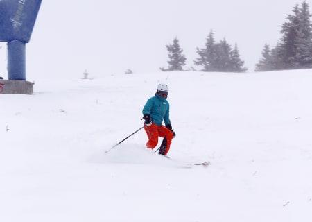 Her kjøres det ski i Hafjell
