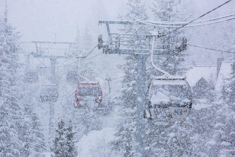 SNØALARM: Whistler kan få enhver skandinaver til å sikle på pudder. Foto: Mitch winton/ Coast Mountain Photography