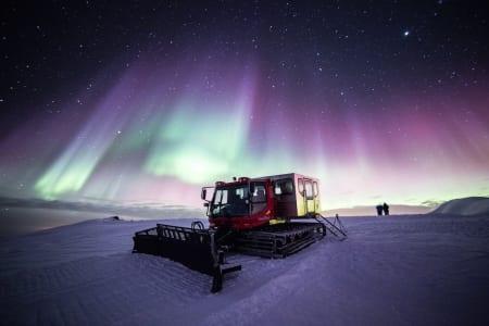 ISLAND: Det kan bli spektakulært når Henrik Harlaut besøker Island. Foto: Iceland Winter Games
