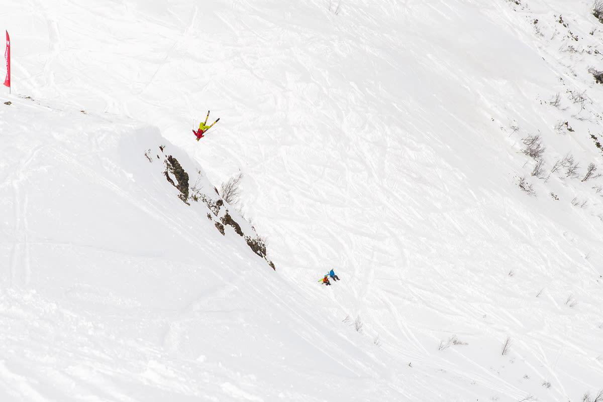 VANT PÅ HJEMMEBANE: Backflip-spesialist Frikk Tore Kristiansen dro hjem seieren på Lemonsjøen i dag. Foto: Ove Nestvold