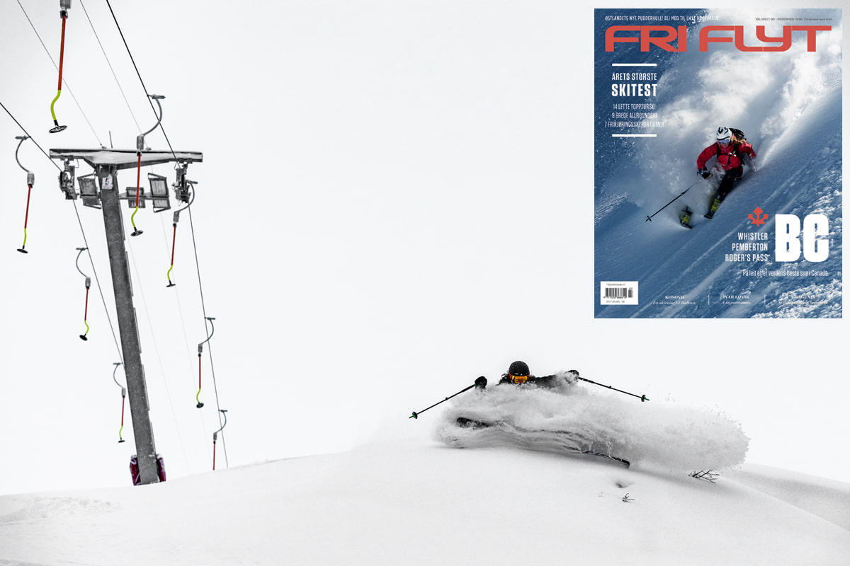 NY UTGAVE: Les om puddersnakkisen Høgevarde i den nye utgaven av Fri Flyt! Foto: Bård Basberg