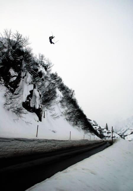 Finseth-gap´et i Arlberg. Foto: Jerk Looman