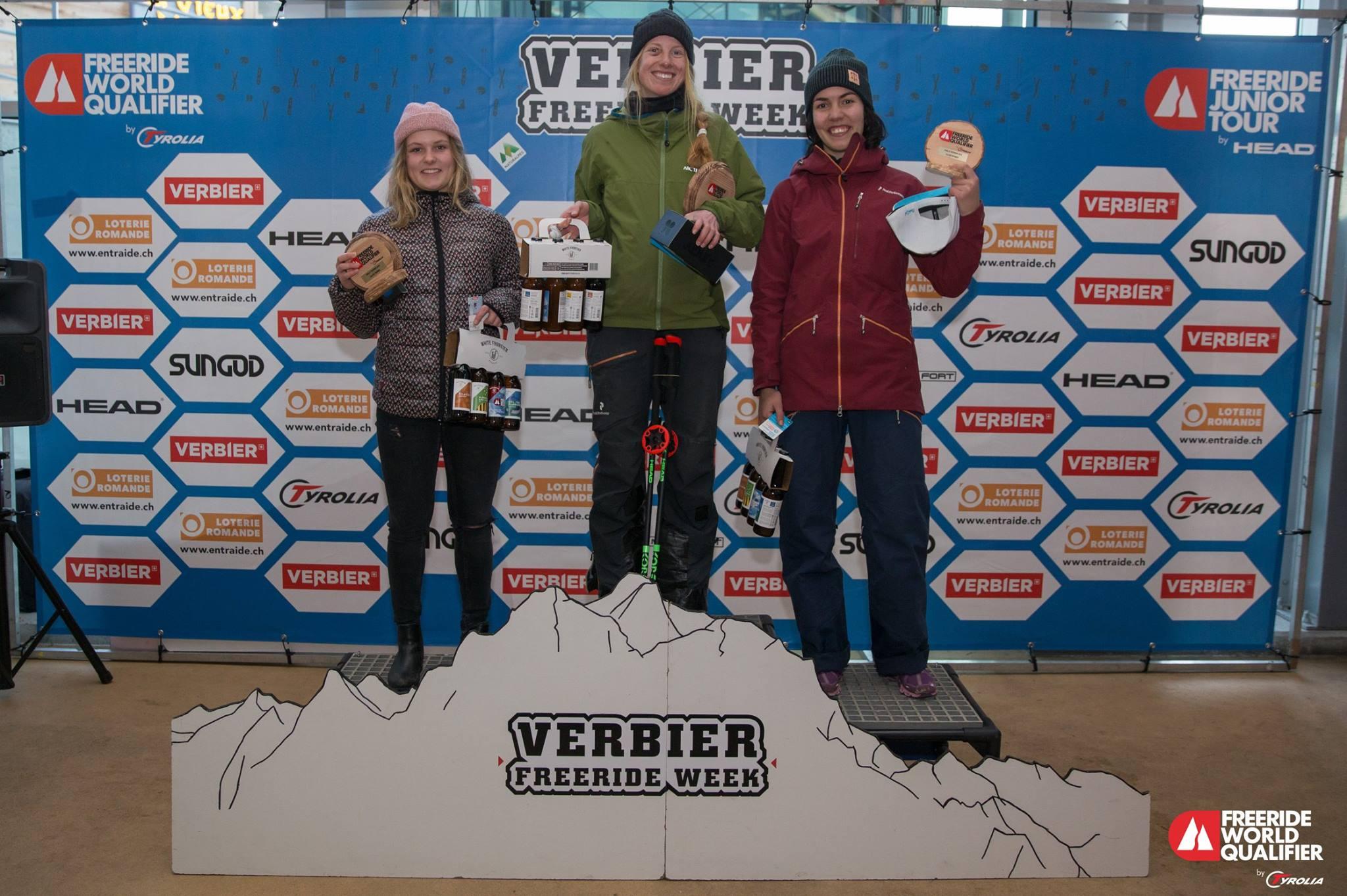 VINNER-RUNNET: Ida Gunleiksrud tok nok en seier i Verbier i dag. Foto: Thomas Bakker