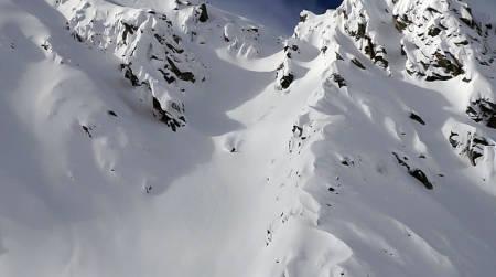 MILJØVENNLIG: Steps tar mål av seg å bli verdens første miljøvennlige skifilm. Det ser ikke ut til å ha gått ut over verken kjøring eller locations.