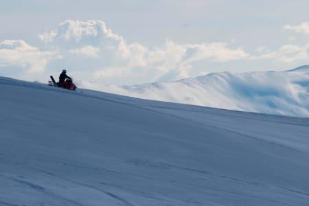 SCOOTER: Det blir ingen scooterløyper i Oppland. Foto: Tore Meirik