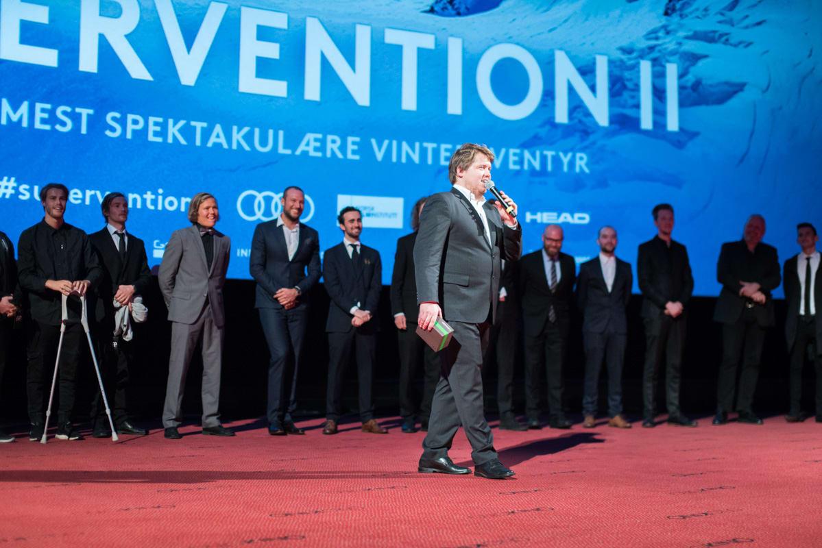 NORGE RUNDT: Field Productions skal reise Norge rundt for å vise fram Supervention 2. Foto: Kyle Meyr