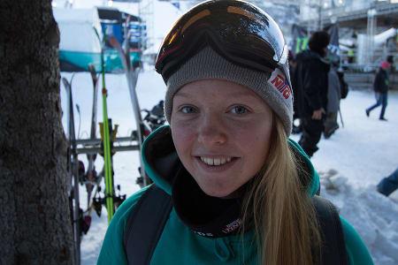 SESONG: Johanne Killi har hatt en fantastisk sesong. Her på plass i Aspen under X Games. Foto: Anders Holtet