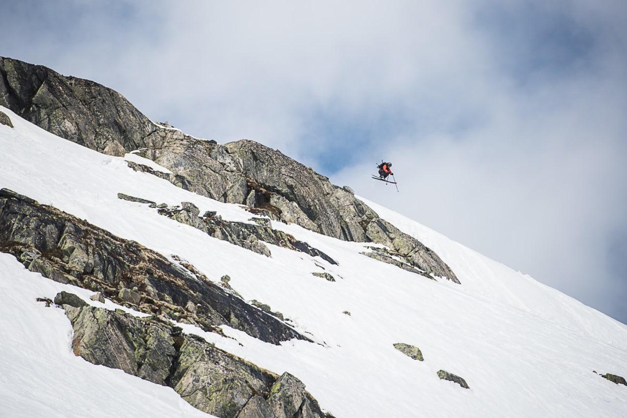 DAMENE DOMINERER: Foreløpig ligger dameklassen an til å bli større enn herreklassen under Freeline Jam på Stryn! Arkivfoto: Vegard Breie