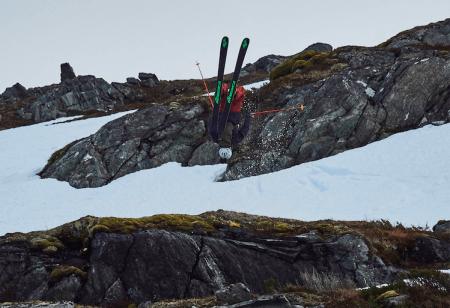 LEDER: Øystein Aasheim. Her fra gårdagens kjøring. Foto: Timme Ellingjord/X2