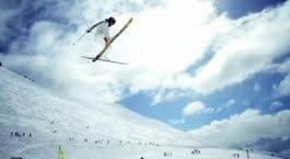 OVERSHOOT: Jon gikk så langt i Trebblecone at vi ikke kan avskrive ham en skihoppkarriere. OL 2022?