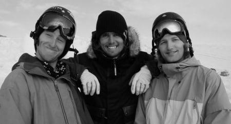 STOKA KARER: Tom Wallisch, Jon Olsson og Aleksander Aurdal.