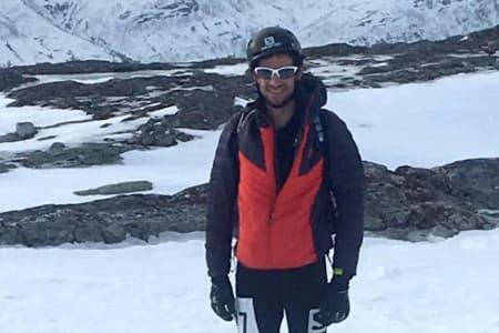Kilian Jornet vant Norgescuprennet i Kårvatn på lørdag. Foto: Arrangøren